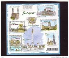 2011-N°F4538**(4538/4541 ) BUDAPEST - Neufs