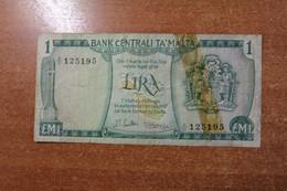 Malta 1 Lira 1967 RK - Malta