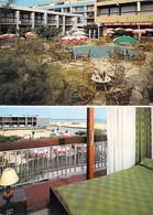 """11 - PORT LA NOUVELLE :  Bar Hotel Restaurant """" LE MIRAMAR """" Sur Le Front De Mer - CPM Grand Format - Aude - Port La Nouvelle"""