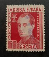 FALANGE Arriba España - 1 Ptas - Vignette Viñeta - Guerra Civil - Verschlussmarken Bürgerkrieg
