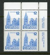 Canada MNH PB 1977-82 Parliament Buildings - Non Classés
