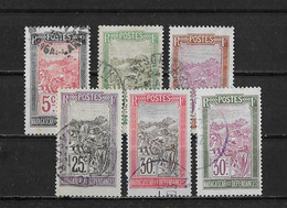 Madagascar Yv. 131 - 136 O. - Oblitérés