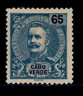 ! ! Cabo Verde - 1903 D. Carlos 65 R - Af. 80 - MH - Kapverdische Inseln