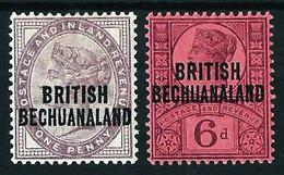 Bechuanaland (Británica) Nº 31*-34* (año 1892) - 1885-1895 Kronenkolonie