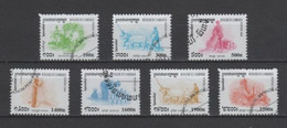 (S2198) CAMBODIA, 2000 (Definitives: Rice Cultivation). Complete Set. Mi ## 2047-2053. Used - Camboya