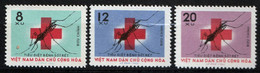 VIETNAM NORD - Lutte Contre Le Paludisme - Y&T N° 382-384 - 1962 - Vietnam