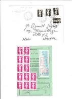 """2 Documents ...à 2.80fr Et 59.60fr.....avec Des """"BRIAT""""........à Voir - 1989-96 Marianne Du Bicentenaire"""