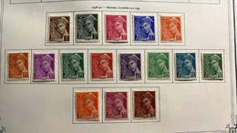 JD50 Série Complète Type Mercure  N°404-416A Neufs * Très Frais - Unused Stamps