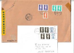 """2 Documents ...à 2.80fr Et 21.40fr.....avec Des """"BRIAT""""........à Voir - 1989-96 Marianne Du Bicentenaire"""