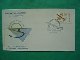 Concorde -- BUENOS AIRES -- 60° Aniversario Fuerza Aerea - Oblitération Concorde 26 Agosto 1972 - Oblitérés