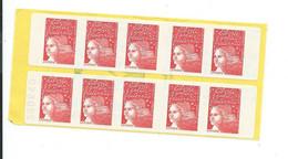 Carnet 3085a C3 Neuf  Marianne De Luquet - Standaardgebruik
