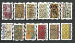 FRANCE 2011 / Serie N° 512 A 523 / Oblitéré N° Yvert & Tellier - Adhesive Stamps