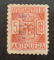 Espagne - Spain - Espana - Vignette 5 Ptas - Ayuntamiento De Antequera - TB - Ohne Zuordnung