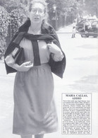 (pagine-pages)MARIA CALLAS  Gentemese1988/12.F - Other