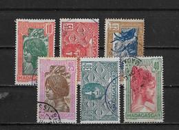Madagascar Yv. 165 - 170 O. - Oblitérés