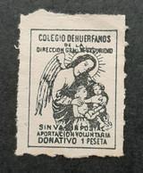 Espagne - Spain - Espana - Vignette 1 Ptas - Colegio De Huerfanos - TB - Unclassified