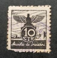 Espagne - Spain - Espana - Vignette 10 Cts - Auxilio De Invierno - B - Unclassified