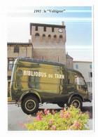 Bibliobus Du Tarn Camion Goelette Renault 1945-1995 - Unclassified