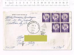 1957 - PHILADELPHIA - USA - Storia Postale - Annulo A Targhetta La Nuova Fiat 500 - Auto Car - Briefe U. Dokumente