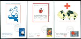 Nederland 22 Augustus 1978 Maximumkaarten (3) Rode Kruis NVPH 1161-1163 - Maximum Cards