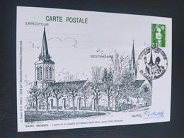 Carte Saint-memmie Signé Dessin De  Roland Irolla 1990 Timbre N° 2627 - 1990-1999