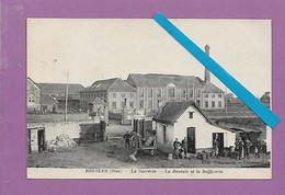 CPA BRESLES - La Sucrerie - La Baseule Et La Raffinerie Belle Animation ( Circulée) - Sonstige Gemeinden