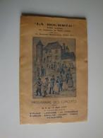"""Folklore,""""La Bourrée"""",programme Des Concerts Août 1937,St Flour,Vic-sur-Cère Etc Martin Cayla - Programas"""