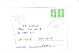 Des USA Pour La France...avec 2 FAUX BRIAT (photocopies Couleurs).....à Voir - 1989-96 Marianne Du Bicentenaire