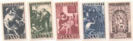 SARRE - 1949 - Oeuvres Populaires ( Volkshilfe ) - N++  - Série 5 Valeurs -Yvert N° 263-267 - Unused Stamps