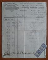 Maroc Espagnol - Marruecos - Tetuan 1935 - Facture Avec Timbres Fiscaux - RR Et TB - Spanisch-Marokko