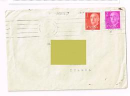 Spagna - Barcelona Comandacia De Obras Region Militar   - Storia Postale - 1951-60 Lettres