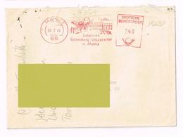 1964 - Mainz - Germania - Storia Postale - Annullo A Targhetta Storia Postale - Cartas