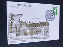 Carte Châlons-en-Champagne  Dessin De  Roland Irolla 1991 Timbre N° 2627 - 1990-1999