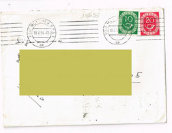 1954 - Germania - Storia Postale - Lettres & Documents