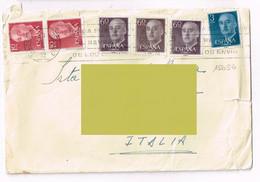 Spagna Espana - Storia Postale - 1951-60 Lettres