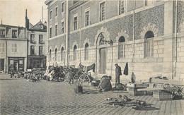 CPA 51 Marne Reims L'Ancienne Prison Et La Marché à La Ferraille - Reims