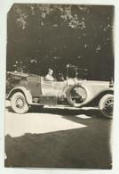 AUTO D'EPOCA - MODELLO ROLLS ROYCE 1921 - NV  FG -  CM. 15X10 RIFILATA AI BORDI - Andere