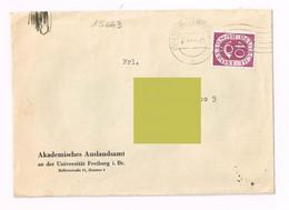 1954 - Germania - - Freiburg - Storia Postale - Lettres & Documents