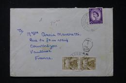 FRANCE - Taxes De Courthézon Sur Enveloppe Du Royaume Uni En 1964 - L 90452 - Lettres Taxées