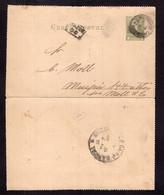 Argentina - 1892 - Carta Postal - Bernardino Rivadavia - 2 Ctv - A1RR2 - Briefe U. Dokumente
