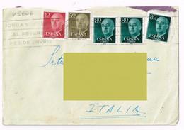 1958 - Spagna  - Storia Postale - 1951-60 Lettres