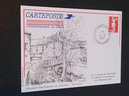 Carte Châlons-sur-Marne Dessin De Roland Irolla 1992 Timbre N° 2720 - 1990-1999