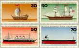 Berlin 1977 Yvertn° 505-08 *** MNH Cote 5 Euro Bateaux Boten Ships - Neufs