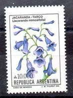 Argentina Serie Nº Yvert 1725 ** FLORES (FLOWERS) - Neufs