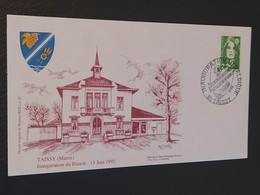 Enveloppe Tassy Dessin De Roland Irolla 1992 Timbre N° 2718 - 1990-1999