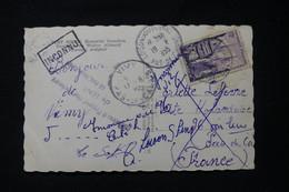 """FRANCE - Cachet """" Inconnu à L 'Appel Des Facteurs De Lens """" Sur Carte Postale En 1955 - L 90459 - 1921-1960: Modern Tijdperk"""