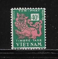 VIET-NAM DU NORD   ( VIET - 76 )  1952  N° YVERT ET TELLIER   TAXE  N° 4  N** - Vietnam