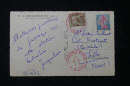 FRANCE - Taxe De La Poste Restante De Lille Sur Carte Postale De Fort Mahon En 1962 - L 90466 - Lettres Taxées
