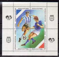 Argentina Hoja Bloque Nº Yvert 42 ** FOOTBALL - Blocs-feuillets