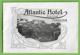 Funchal - Brochura Turística Do Atlantic Hotel - Madeira - Portugal - Dépliants Turistici